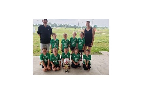 2019 Grimsby Ruffins U8 Girls - West Niagara Tournament Champions!