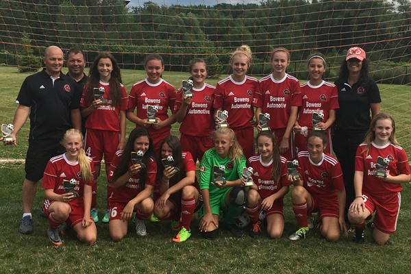 Grimsby u14 Girls - King City Classic Tournament Champions 2017