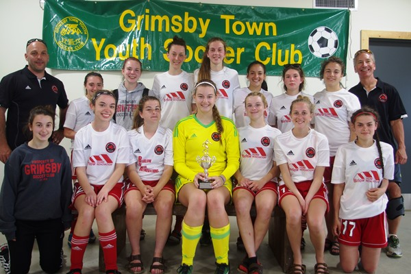 Grimsby u18 Girls - Grimsby's Dazzling Dozen Tournament Finalists 2017