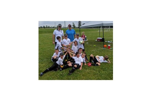 2019 Grimsby Orthomen U10 Boys - West Niagara Tournament Champions!