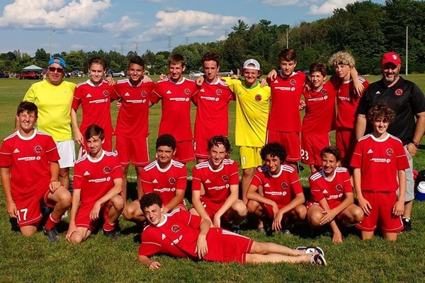 Grimsby u15 Boys - Ottawa GIST Tournament u15 Finalists 2017